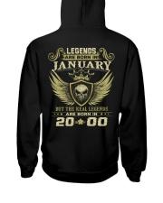 LEGENDS 00 1 Hooded Sweatshirt back