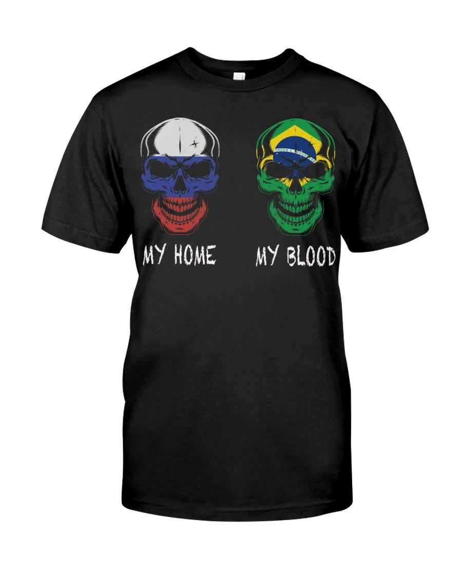 My Home Russia - Brazil Classic T-Shirt