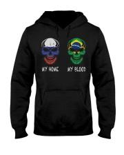 My Home Russia - Brazil Hooded Sweatshirt thumbnail