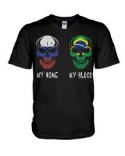 My Home Russia - Brazil V-Neck T-Shirt thumbnail