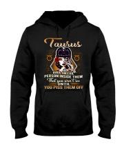 Taurus Girl Hooded Sweatshirt front