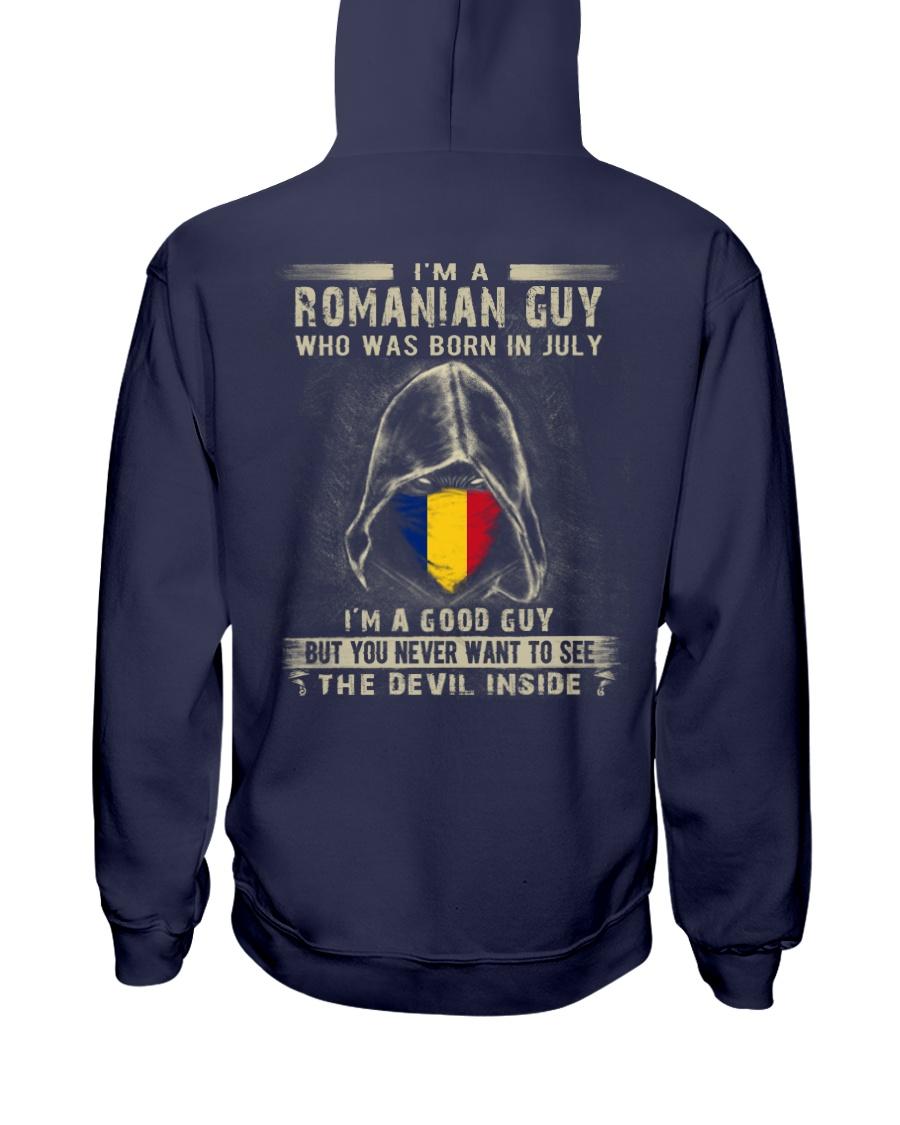 ROMANIAN GUY - 07 Hooded Sweatshirt