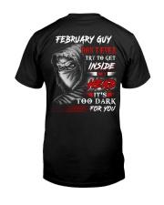 Inside My head - guy-2 Classic T-Shirt thumbnail