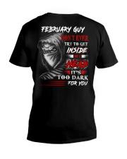 Inside My head - guy-2 V-Neck T-Shirt thumbnail