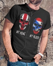 My Home England - Puerto Rico Classic T-Shirt lifestyle-mens-crewneck-front-4