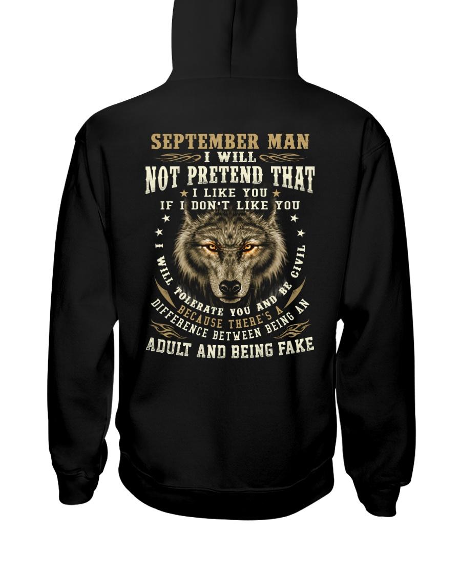 NOT PRETEND 9 Hooded Sweatshirt