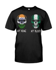 My Home India - Nigeria Classic T-Shirt front