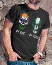 My Home India - Nigeria Classic T-Shirt lifestyle-mens-crewneck-front-4