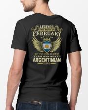 LEGENDS ARGENTINIAN - 02 Classic T-Shirt lifestyle-mens-crewneck-back-5