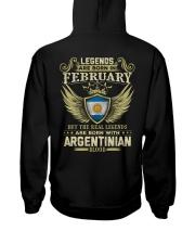 LEGENDS ARGENTINIAN - 02 Hooded Sweatshirt thumbnail