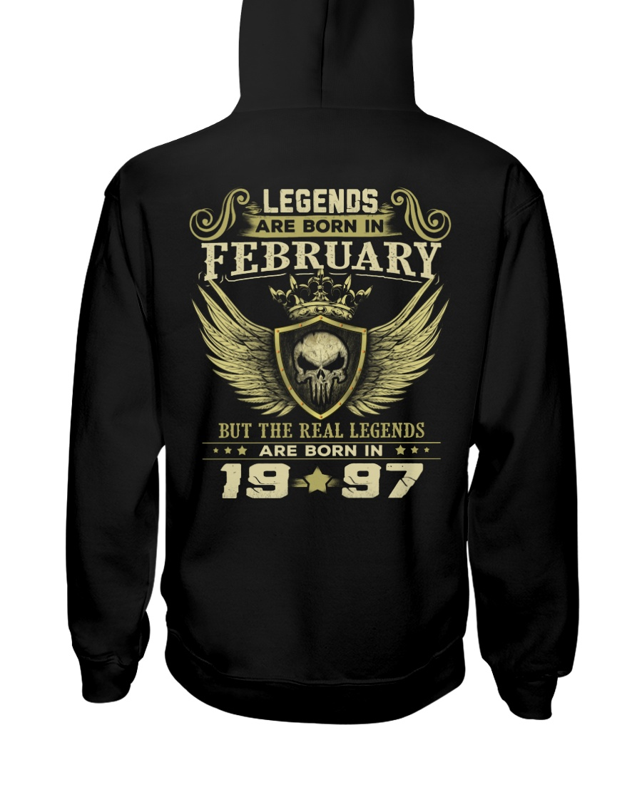 LEGENDS 97 2 Hooded Sweatshirt