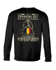 ROMANIAN GUY - 03 Crewneck Sweatshirt thumbnail