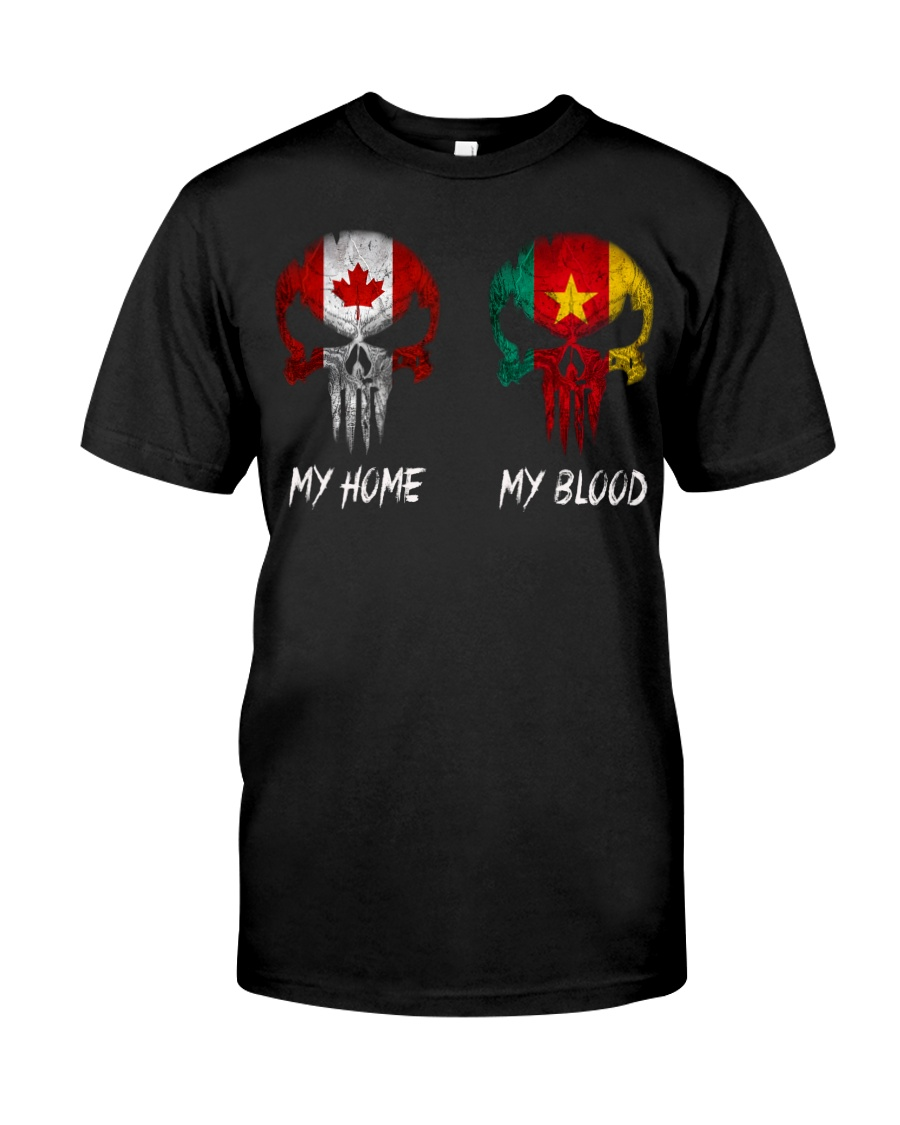 Home Canada - Blood Cameroon Classic T-Shirt