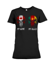 Home Canada - Blood Cameroon Premium Fit Ladies Tee thumbnail