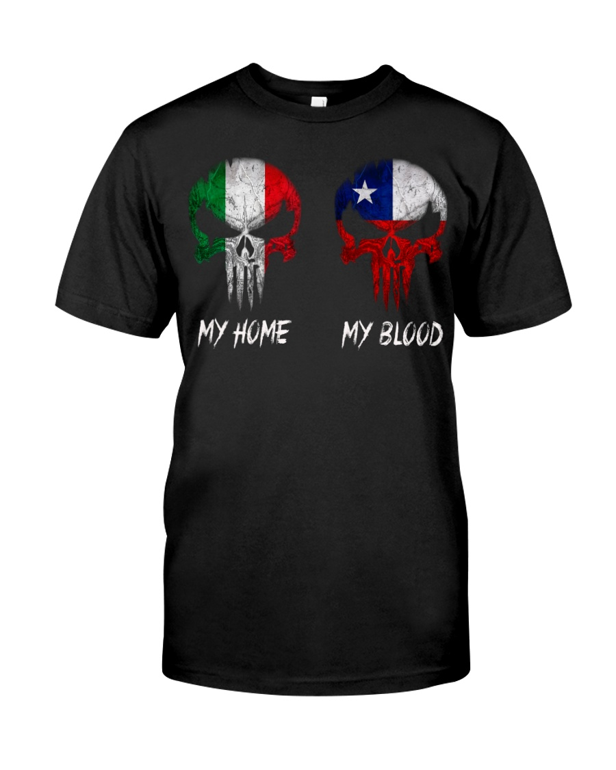 Home Italy - Blood Chile Classic T-Shirt
