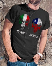 Home Italy - Blood Chile Classic T-Shirt lifestyle-mens-crewneck-front-4