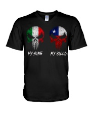 Home Italy - Blood Chile V-Neck T-Shirt thumbnail