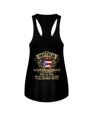 I Can Be - Puerto Rican Ladies Flowy Tank thumbnail