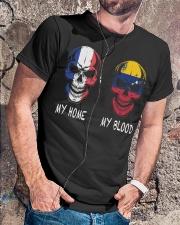 My Home France - Venezuela Classic T-Shirt lifestyle-mens-crewneck-front-4