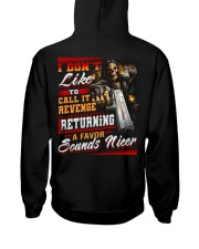 Sounds Nicer Hooded Sweatshirt back