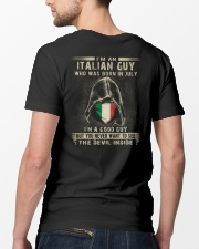 ITALIAN GUY - 07 Classic T-Shirt lifestyle-mens-crewneck-back-5