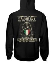 ITALIAN GUY - 07 Hooded Sweatshirt thumbnail