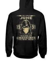 GOOD GUY 91-6 Hooded Sweatshirt back