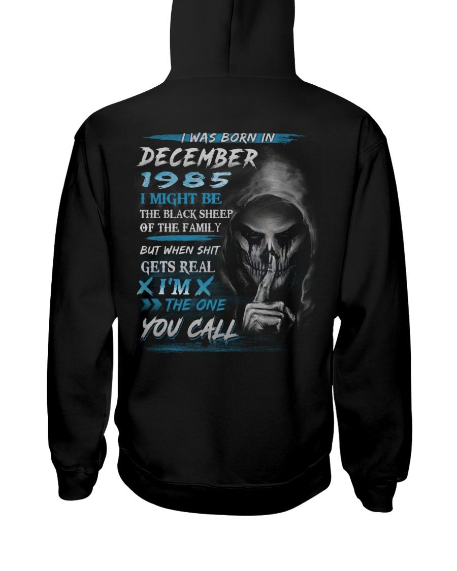 1985-12 Hooded Sweatshirt