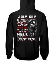 nice trip 7 Hooded Sweatshirt back