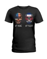 My Blood - Costa Rica Ladies T-Shirt thumbnail