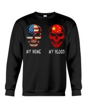 My Blood - China Crewneck Sweatshirt thumbnail