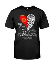 Heart - Pride Montenegro Classic T-Shirt front