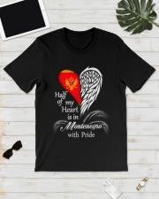 Heart - Pride Montenegro Classic T-Shirt lifestyle-mens-crewneck-front-17