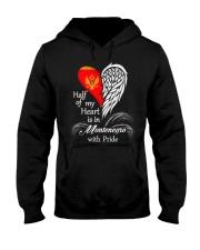 Heart - Pride Montenegro Hooded Sweatshirt thumbnail
