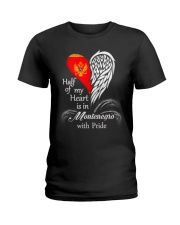 Heart - Pride Montenegro Ladies T-Shirt thumbnail