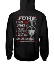 3SIDE NEW STYLE 6 Hooded Sweatshirt back