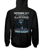 DARKNESS 9 Hooded Sweatshirt back