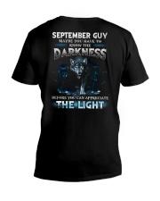 DARKNESS 9 V-Neck T-Shirt thumbnail