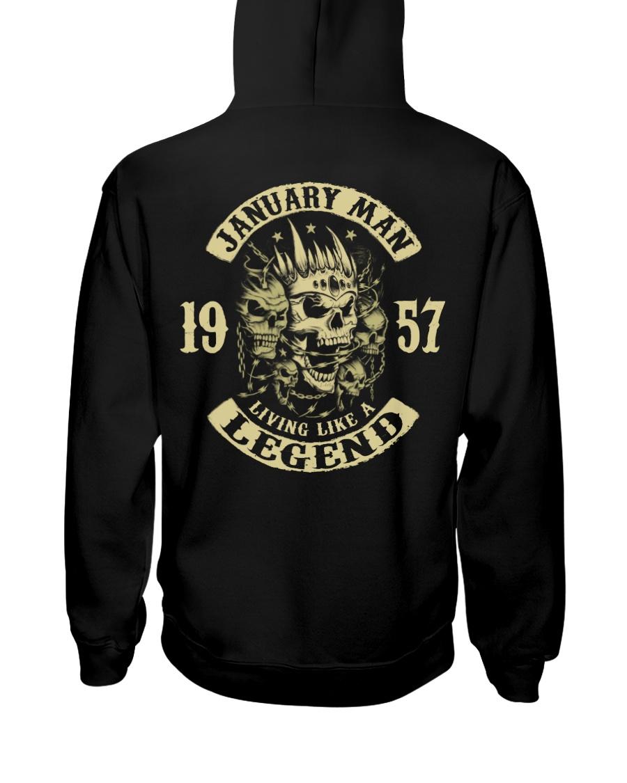 MAN 57- 1 Hooded Sweatshirt