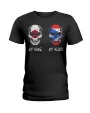 My Home Japan - Puerto Rico Ladies T-Shirt thumbnail