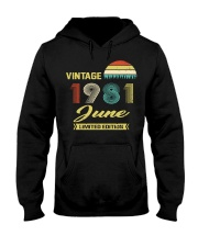 LIMITED 81 6 Hooded Sweatshirt front