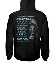 1975-12 Hooded Sweatshirt back