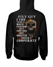 NICE PERSON 7 Hooded Sweatshirt back