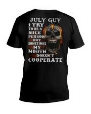 NICE PERSON 7 V-Neck T-Shirt thumbnail
