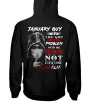 problem 1 Hooded Sweatshirt back