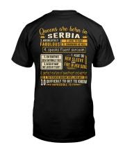 Queens Serbia Classic T-Shirt thumbnail