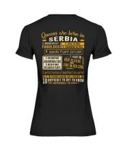 Queens Serbia Premium Fit Ladies Tee thumbnail
