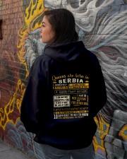 Queens Serbia Hooded Sweatshirt lifestyle-unisex-hoodie-back-1