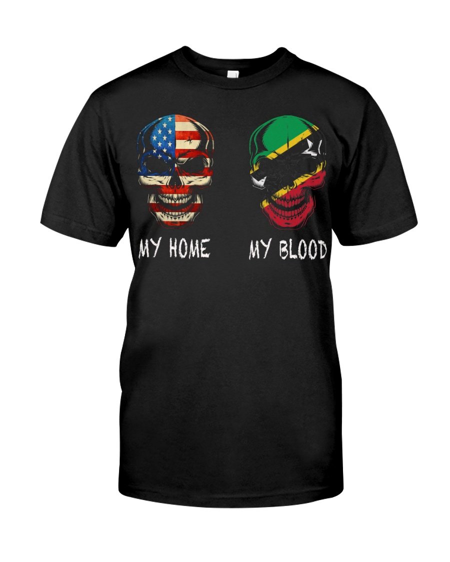 My Blood - Saint Kitts and Nevis Classic T-Shirt