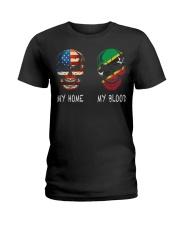 My Blood - Saint Kitts and Nevis Ladies T-Shirt thumbnail